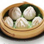 5. 小龍包 : Shyo Ron Pow Steamed Juicy Pork Dumpling  $8.00