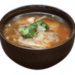 蟹肉入り野菜豆腐スープ Crab Meat, Vegetable and Tofu Bisque (For Two) $10.00