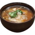 蟹肉入り野菜豆腐スープ Crab Meat, Vegetable and Tofu Bisque (For Two) $10.00