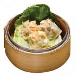 自家製エビしゅうまい Ebi Shumai Steamed Shrimp Shumai $8.00
