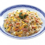 五目チャーハン Gomoku Chahan Fried Rice with Roasted Pork & Vegetables $13.00/$8.00