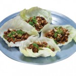 牛挽肉炒めレタス包み Gyu Lettuce Juicy Ground Beef Wrapped in Fresh Lettuce $12.00