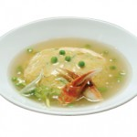 カニ玉 Kani Tama Chinese Style Omelette Crabmeat & Vegetables in a Special Oyster Sauce $18.00/$10.00