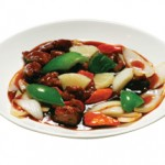 酢豚 Subuta Fried Sweet and Sour Pork served with Vegetables $20.00/$11.00