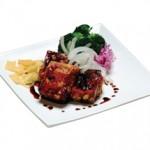 豆腐ステーキ Tofu Steak Deep Fried Tofu Served with Vegetables $9.50