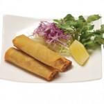和風春巻き Wafu Harumaki Fried Pork & Vegetables Spring Roll $7.00